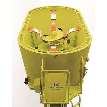 Small TMR feeding mixer machine