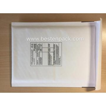 White Paper Bubble Padded Envelope