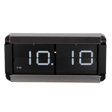 Metal Flip Clock With A Box Shell