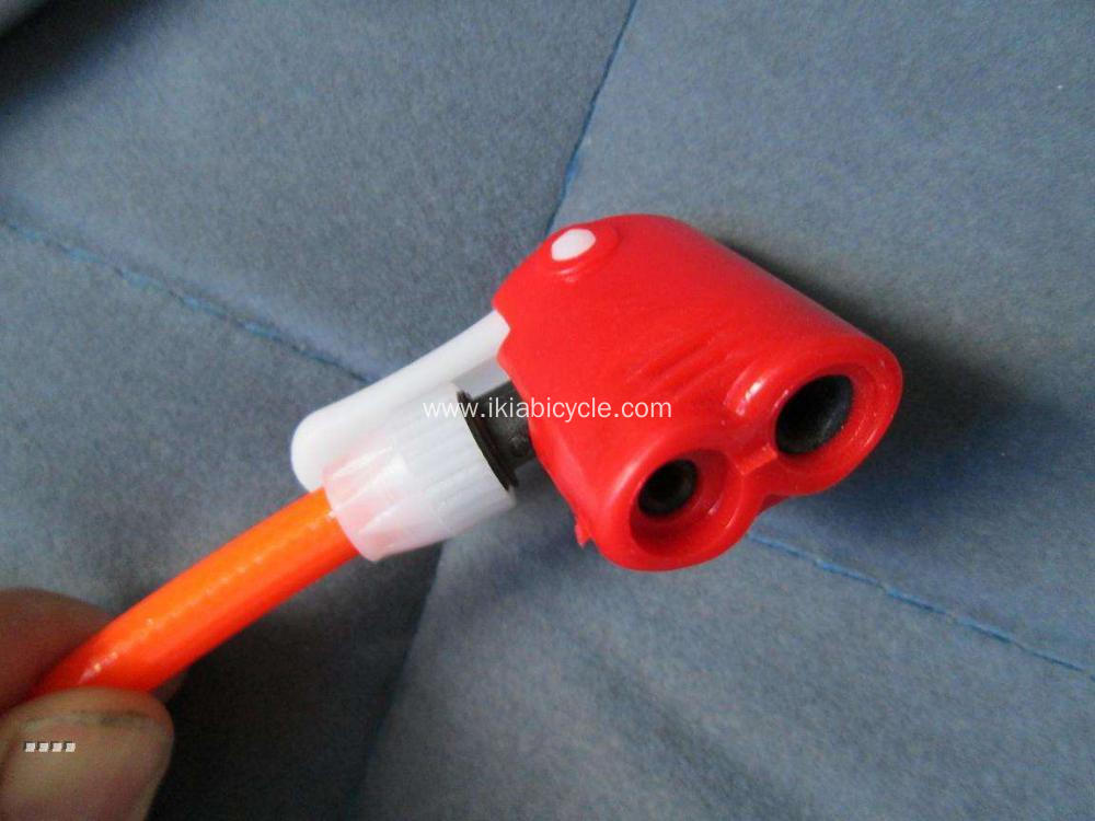 Portable Pump Inflator with Double Air Nozzle