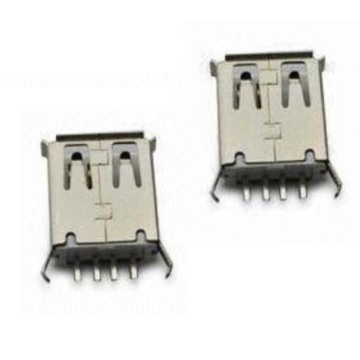 USB A Type Receptacle Straight DIP (13.15mmx7.00mm)