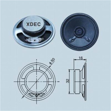 China Manufacturer for Dvr Speaker 50mm Full-range 2inch 8ohm 0.5watt micro speaker unit supply to Christmas Island Suppliers