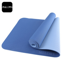 OEM manufacturer custom for Tpe Fitness Mat Melors TPE Yoga Mat Yoga Exercise Mat export to South Korea Importers