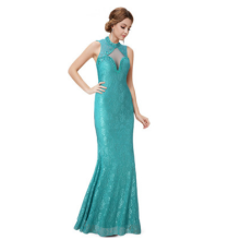 Sexy package hip long dress banquet evening dress