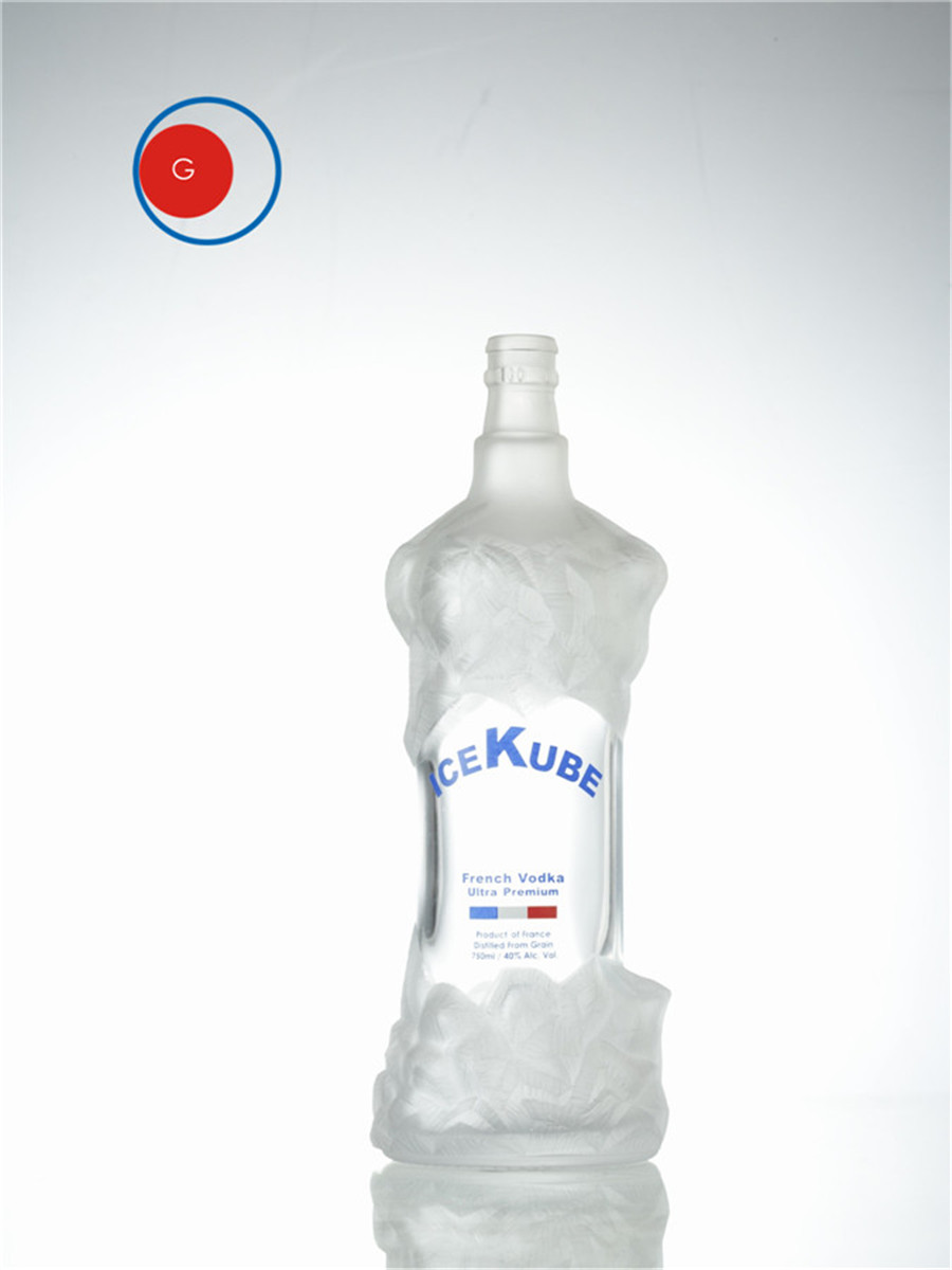 Ice Kube Vodka Bottle