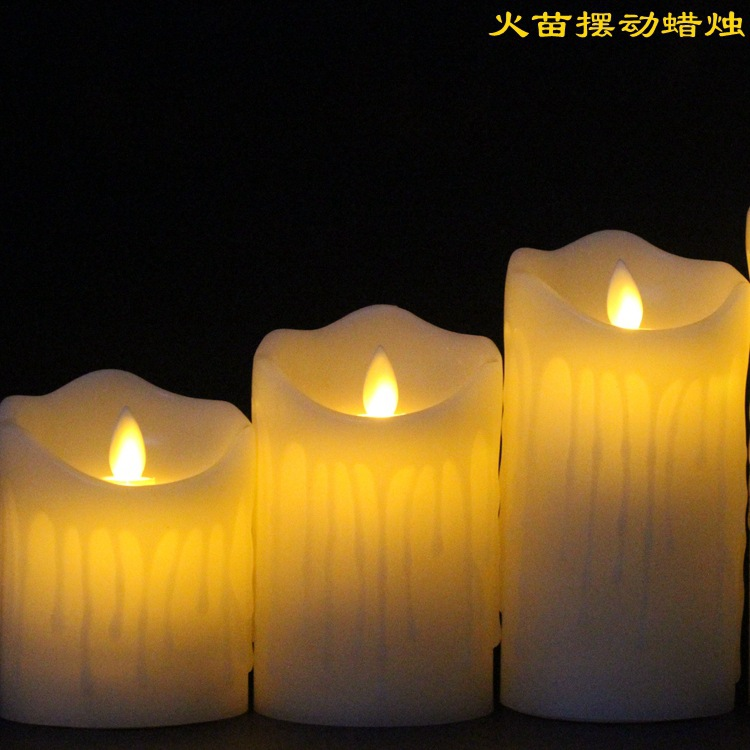 Tears Led Candle 5