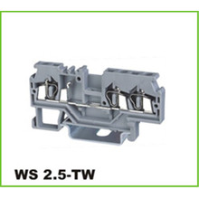 3 Way  Feed-Through Spring Terminal Block 2.5mm2