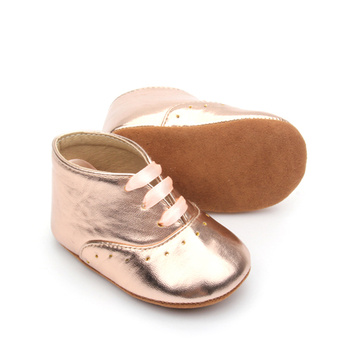 Lace Up Genuine Leather Casual Soft Baby Shoes