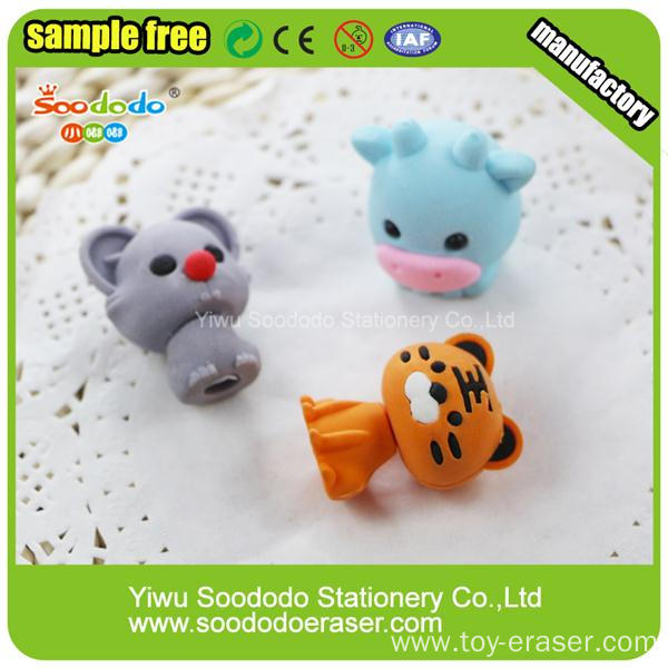Characteristic Chinese Zodiac Various Animal Shaped Eraser