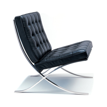 Modern Barcelona Chair in italian leather