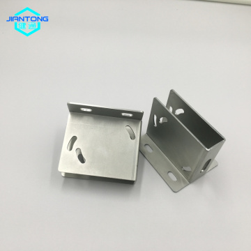 custom made zinc plated sheet metal bracket stamping
