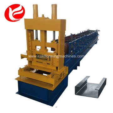 Channel changeable c z purlin roll forming machine