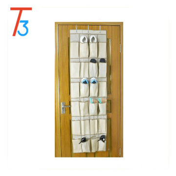 Over the Door 24 Pocket Hanging Shoe Organizer
