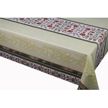 Elegant Tablecloth with Non woven backing 52 Square