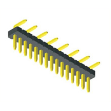 Reliable for Pin Header Connector,1.27Mm Male Header,1.27Mm Male Header Pins Manufacturers and Suppliers in China 1.27mm Pitch Single Row V/T SMT Connectors export to Heard and Mc Donald Islands Exporter