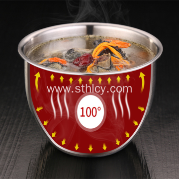 High Quality Stainless Steel Steaming Bowl