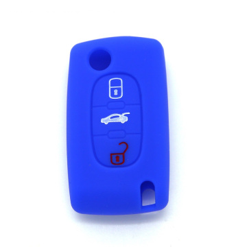 Peugeot Car Sets Silicone 3 Buttons