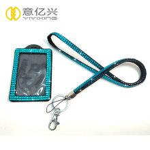 Wholesale cheap sparkly lanyards with id holder