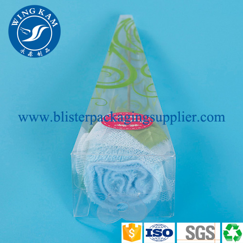 Accept Custom Order Plastic Folding Packaging for Flowers