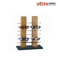 Table Stand Wooden Eyewear Display Stand for Exhibition