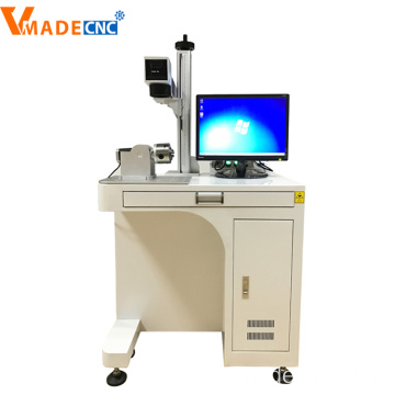 desktop Raycus source fiber laser marking machine