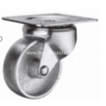 2 Inch Plate Swivel Cast Iron wheel