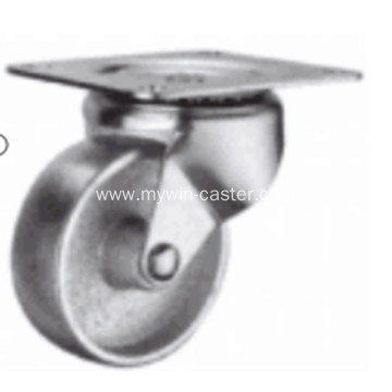 4 Inch Plate Swivel Cast Iron wheel