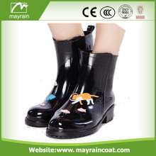 Fashion Design High Quality Sex Ladies Rain Boots
