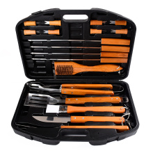 Outdoor 18PCS Stainless steel BBQ Tool Set