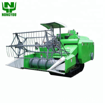 4Lz-1.6 Rice Combine Harvester Wheat Cutting Machine