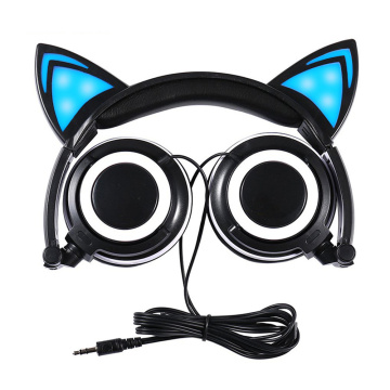 Cute wholesale fashionable glowing cheap headphones