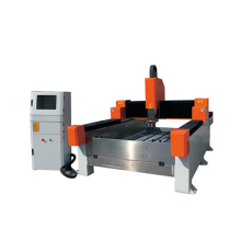 double heads single spindle cnc stone carving machine
