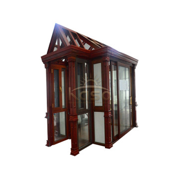 Top Quality for Glass Sunroom Sun Room Glass House Polycarbonate Portable Sunroom supply to Dominica Manufacturers