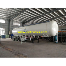 50 CBM LPG Gas Truck Semi-trailers