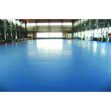 Matte wear resistant epoxy flat coat