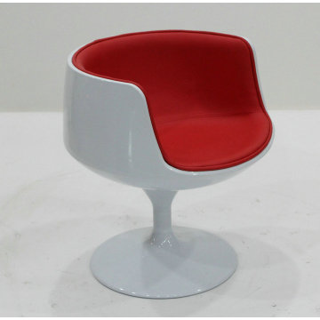 Fibreglass cup shaped chair
