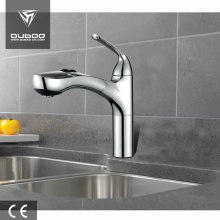 Grand One Handle Pull-Out Chrome Kitchen Mixer Taps