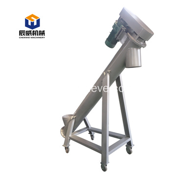 u type auger screw conveyor for sludge