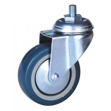 Hot sale for Offer Thermoplastic Elastomer Stem Caster,Elastic Rubber Casters,Industrial Threaded Stem Caster From China Manufacturer 3 inch PP/TPE wheel caster supply to Morocco Suppliers