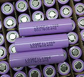 open flashlight battery 18650 Battery LG F1L