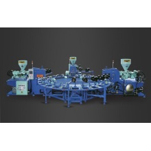 Three Color Tread Molding Machine