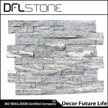 Top for Ledgestone Panels Natural Grey Rough Face Stacked Stone Cladding supply to Netherlands Manufacturers