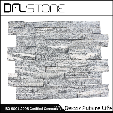 Natural Grey Rough Face Stacked Stone Cladding