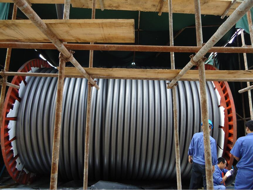 66KV HV CABLE radiation