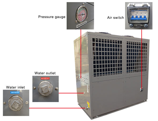 Air to Water Chiller Heat Pump