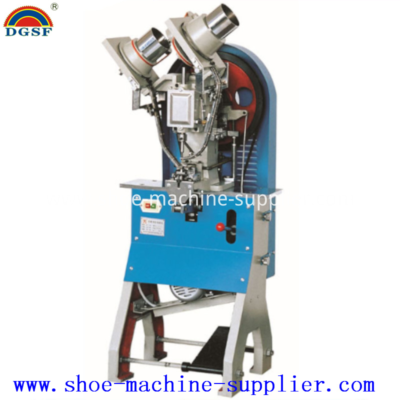 Automatic Double Side Eyeletting Machine