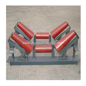 Taper Conveyor Idler Roller Parts Types