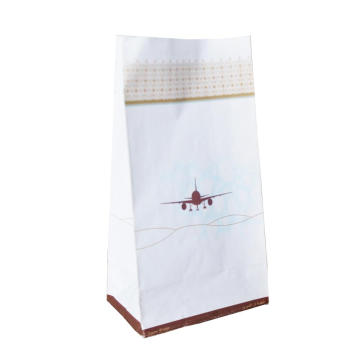 Custom logo air sickness bag for aviation