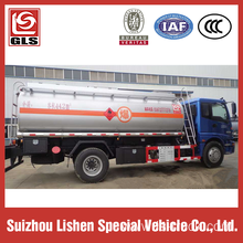 Auman 14000L Carbon Steel Oil Tank Truck