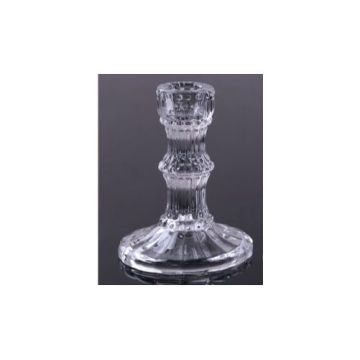 Long-stemmed Glass Vintage Candlestick